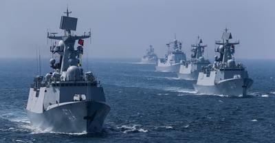 China y Rusia inician maniobras militares conjuntas
