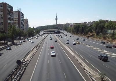 Cortes de tráfico en la M-30 de Madrid por trabajos de asfaltado