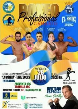 Cita con el boxeo en Canarias
