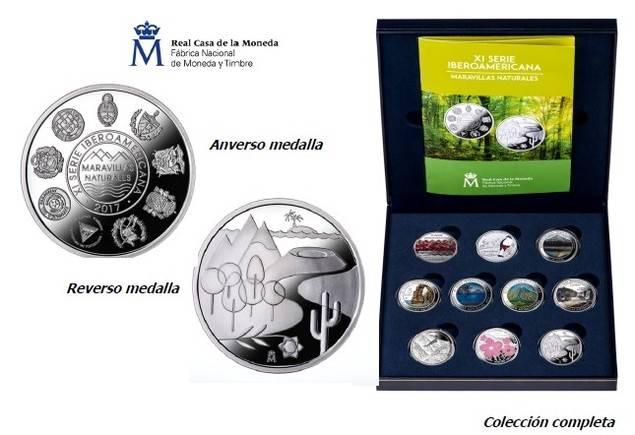 La Real Casa de la Moneda lanza la XI Serie Iberoamericana