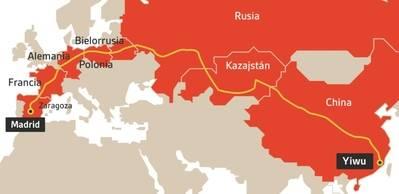 España es un punto cardinal en la Nueva Ruta de laSeda impulsada por China.