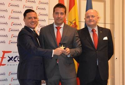 Urbiteco galardonado con la Estrella de Oro a la Excelencia Profesional