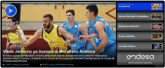 Acierto del Ayuntamiento de Moralzarzal al acoger la pretemporada de la Liga Endesa de baloncesto