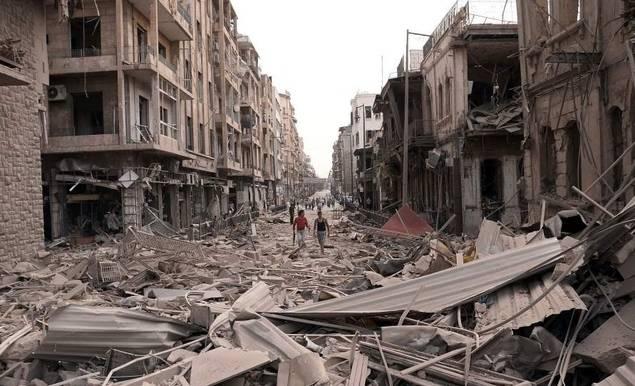 Siria en tres palabras