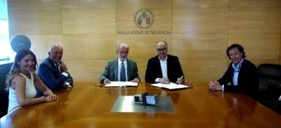 La Universitat de València y ASSET firman un acuerdo