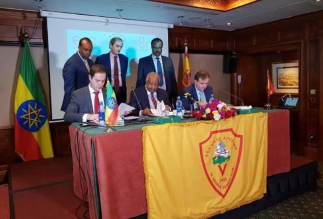 Dos empresas españolas firman un acuerdo para gestionar la primera Academia de fúlbol de Etiopía
