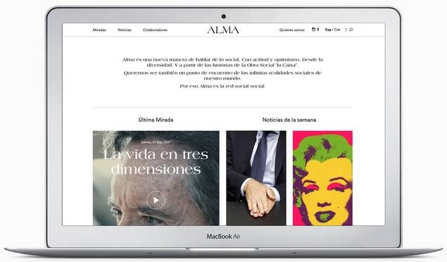 """La Obra Social """"la Caixa"""" y &Rosàs lanzan ALMA, la nueva editorial digital de temática social"""