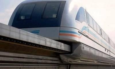 Prueban en Beijing un nuevo tren de levitación magnética