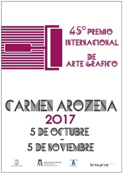 La Real Casa de la Moneda-FNMT entrega el Premio Internacional de Arte Gráfico Carmen Arozena