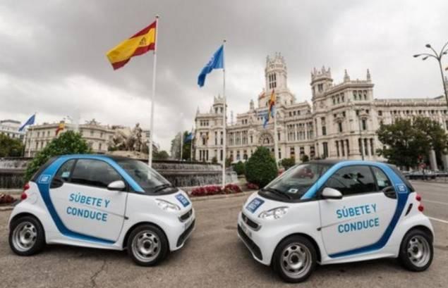 Madrid en el top 3 de ciudades car2go