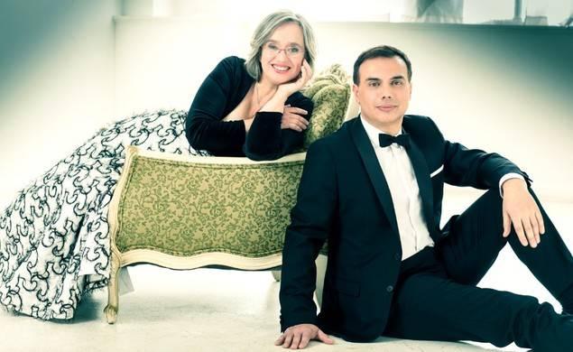 Los pianistas a dúo, Carles & Sofía.