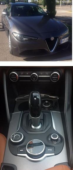 Alfa Romeo GIULIA 2.2D 180 CV, un coche deportivo premiun premiun a precio muy competitivo