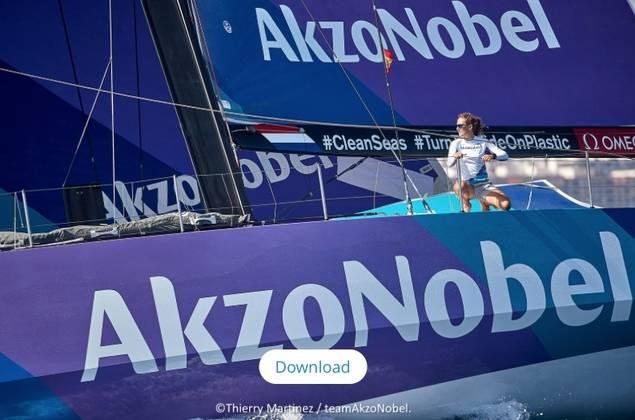 El AkzoNobel en la Volvo Ocean Race, con sensores biométricos de SAP® Leonardo