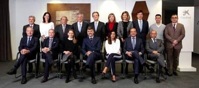 Encuentro del presidente de CaixaBank, Jordi Gual, con el Comité Consultivo de Accionistas.