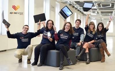 Voluntarios Telefónica, ampliando el #givingtuesday