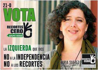 Presentado el decálogo verde de la coalición Recortes Cero - Grupo Verde