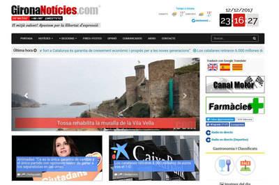 GironaNoticies.com supera los 8 millones de visitas durante el 2017