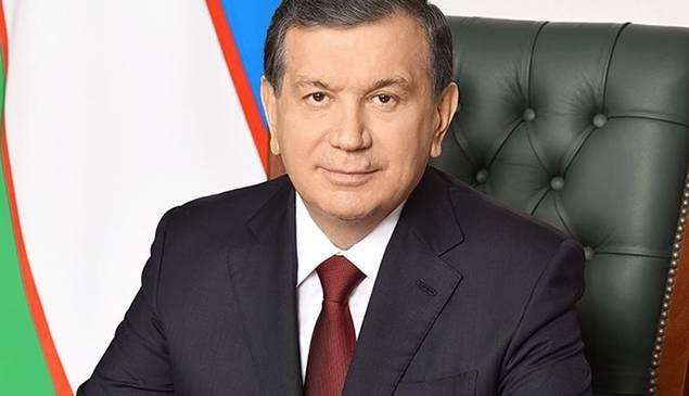 El presidente uzbeko, Shakvat Mirziyoyev.