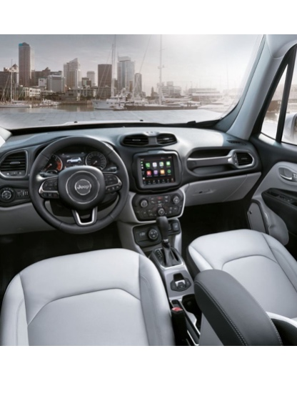 jeep renegade 2018 m s infoentretenimiento con nuevos. Black Bedroom Furniture Sets. Home Design Ideas