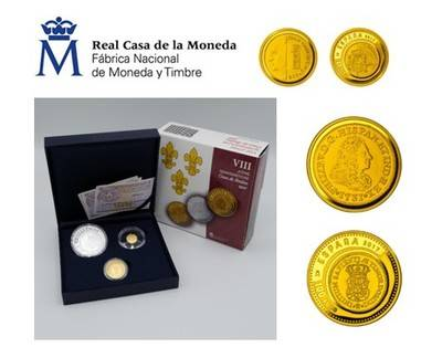 La Real Casa de la Moneda FNMT lanza tres joyas de la numismática hispana en oro y plata