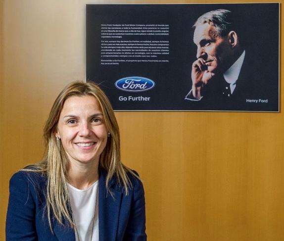 Cristina Del Rey, nueva directora de Comunicación de Ford España