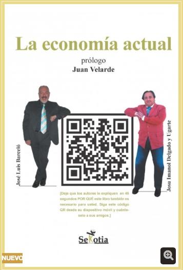 'La economía actual', nuevo libro en el que participa nuestro director José Luis Barceló
