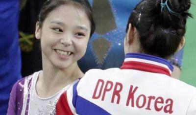 La delegación de alto nivel norcoreana en la clausura de los JJOO de Pyeongchang