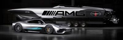 Mercedes lanza lanchas ultrarápidas