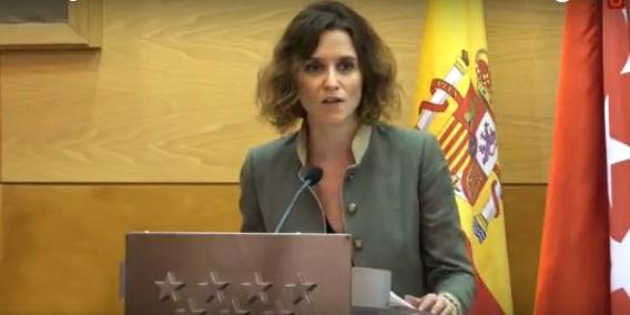 Isabel Díaz Ayuso, viceconsejera de Presidencia y Justicia, entregó los Premios.