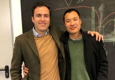 Carlos Avendaño y Kuan-Neng Foo, co-fundadores de Finteca.