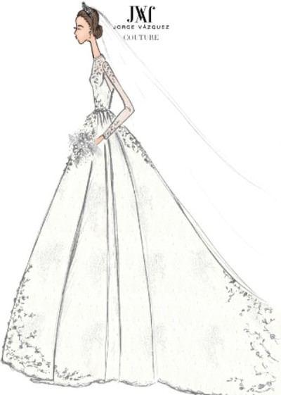 S.A.R La Princesa de Hannover vestirá de Jorge Vázquez en su enlace nupcial