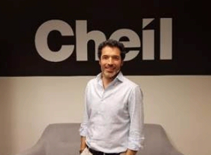 Luis Muñiz López, nuevo Director de Servicios al Cliente de Cheil Spain