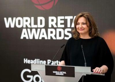 Marta Álvarez Guil, Consejera de El Corte Inglés , en la entrega del Premio Isidoro Álvarez del World Retail Congress.