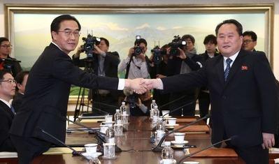Dos cumbres históricas encaminadas a la firma de un tratado de paz entre las dos Coreas