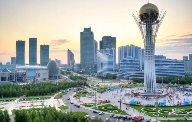 El pujante Centro Financiero Internacional 'Astana'