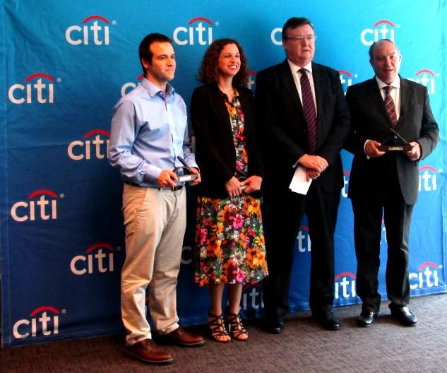 Entregados los galardones de la XIX Edición del Premio de Periodismo Citi Journalistic Excellence Award
