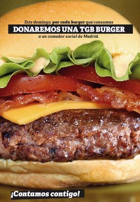 THE GOOD BURGER celebrará el Día Internacional de la Hamburguesa con una donación de burgers a un comedor social de Madrid