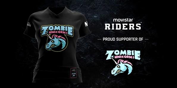 Movistar Riders presenta su alianza con Zombie Unicorns