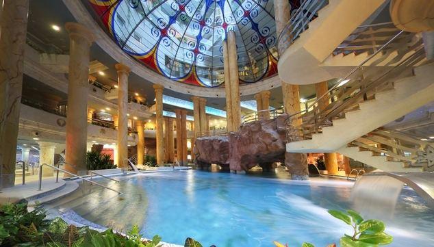 El Balneario de Marina d'Or, en un hotel 5 estrellas, proporciona unas magníficas instalaciones para descansar y restablecerse.