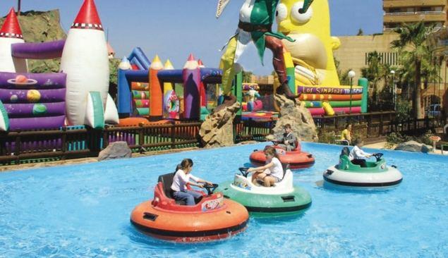 Numerosas instalaciones convierten a Marina d'Or en un centro de ocio privilegiado para las vacaciones en familia.