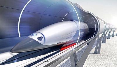 Unos estudiantes españoles presentan un prototipo de tren magnético que puede alcanzar los 1.200 kilómetros por hora