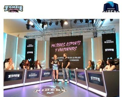 Movistar Riders impulsa la visibilidad de la mujer en los eSports