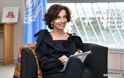 Audrey Azoulay, directora general de Unesco.