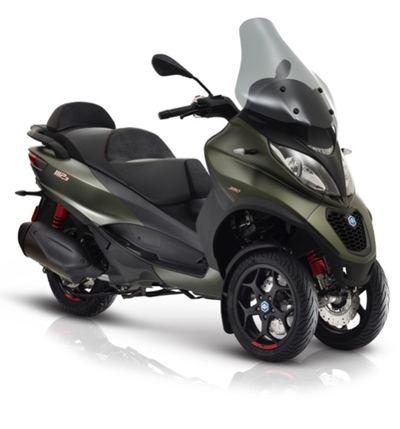 Paggio mp3 se renueva añadiendo una versión de 350 cc. de 30 cv