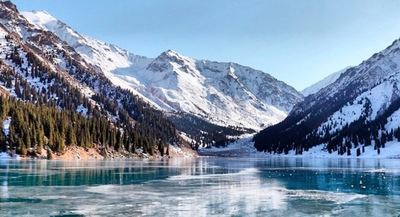Paisaje de Kazajistán.