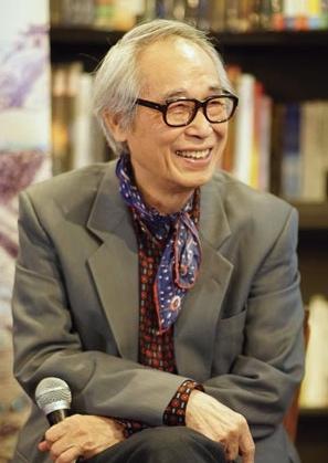 Li Qiao, uno de los mayores literatos taiwaneses contemporáneos.