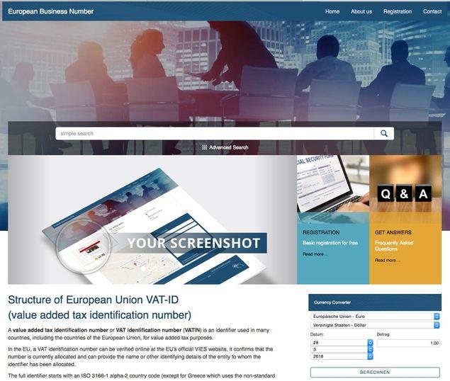 Alerta ante el fraude multimillonario del 'European Business Number'