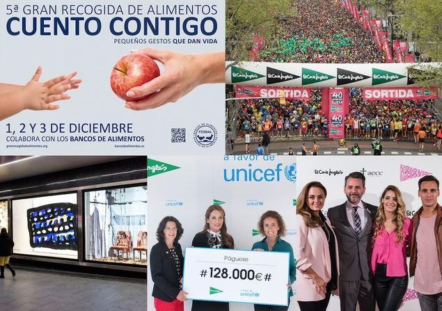 El Corte Inglés promomovió en 2017 más de 3.000 proyectos sociales