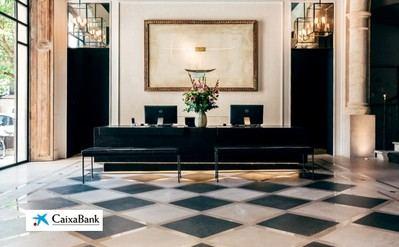 Recépción Hotel Sant Francesc, financiado por Hotels & Tourism.