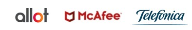 Allot, McAfee y Telefónica lanzan una solución pionera de ciberseguridad para pymes